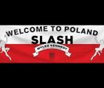 Flaga na koncert Slasha 13 lutego w Katowicach